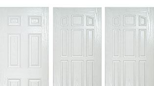 Solid composite doors