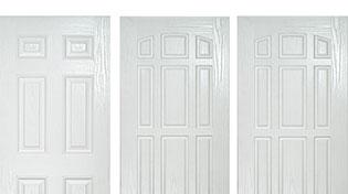 Solid composite doors