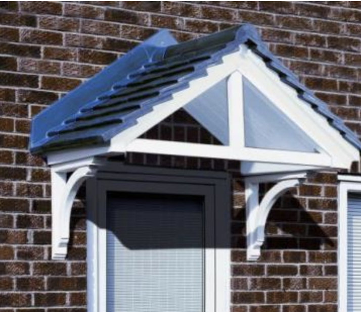 Carisbrooke Over Door Canopy & Over Door Canopy - Faroncrown Doors Manchester