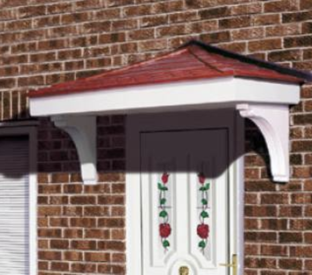 Cheltenham Over Door Canopy & Over Door Canopy - Faroncrown Doors Manchester