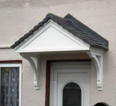 Over Door Canopy