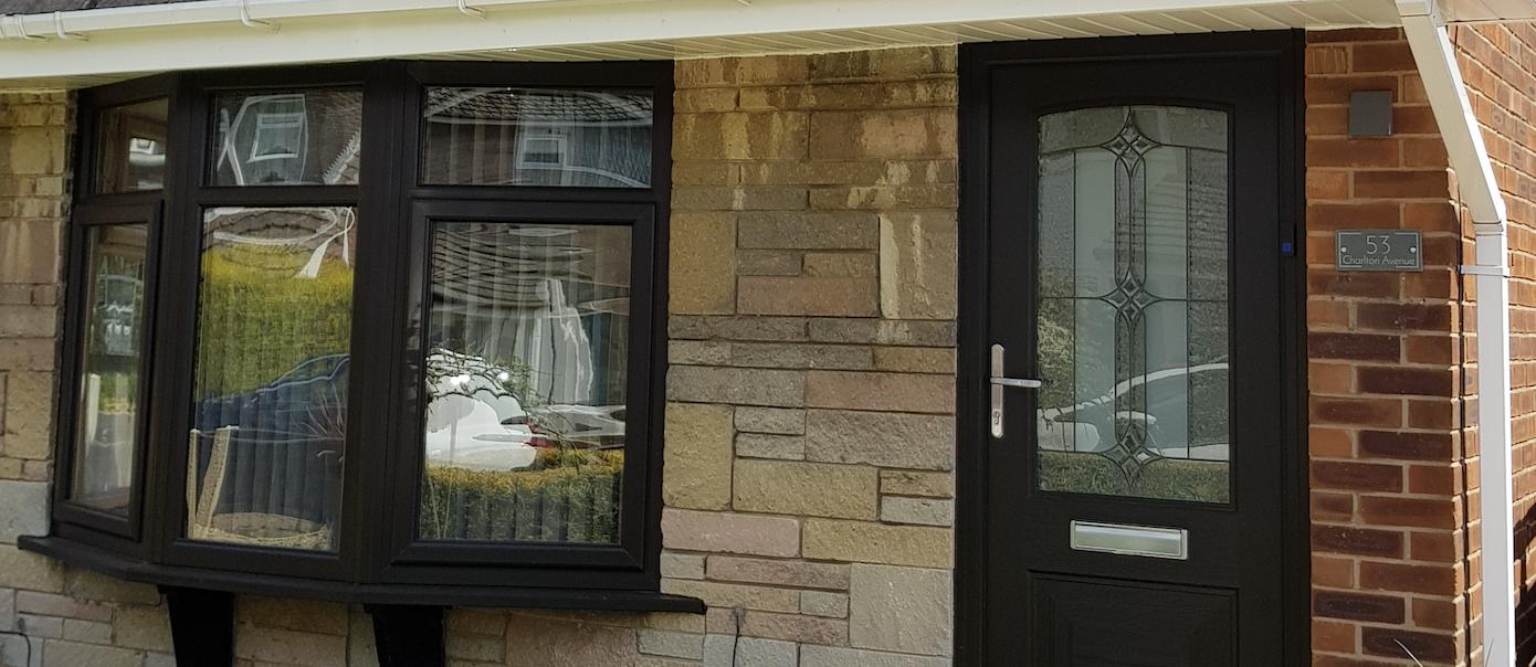 Charcoal Black Windows Amp Front Door Faroncrown Manchester