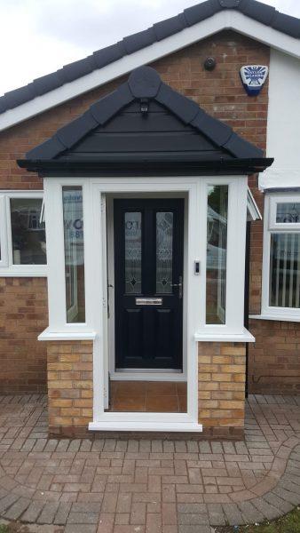 New Porch Windows & Door